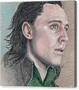 Loki From The Avengers Canvas Print