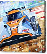Lola Aston Martin Lmp1 Racing Le Mans Series 2009 Canvas Print