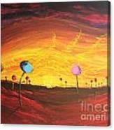 Lollipop Land Canvas Print