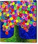 Lollipop Tree 2 Canvas Print