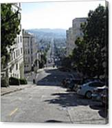 Lombard Street. San Francisco 2010 Canvas Print