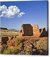 900 Year Old Lomaki Puebloan Ruins, Arizona Canvas Print
