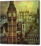 London - Big Ben Canvas Print
