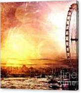 London - London Eye Canvas Print