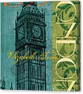 London 1859 Canvas Print
