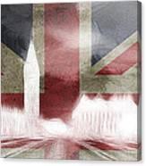 London Big Ben Abstract Canvas Print