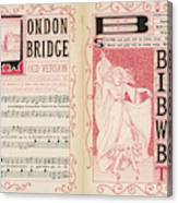 London Bridge Is Broken Down! Dance Canvas Print
