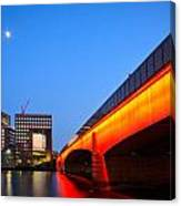 London Bridge. Canvas Print