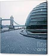 London City Hall Canvas Print