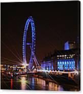 London At Night Canvas Print