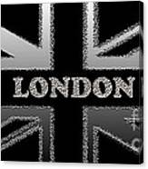 London Modern Union Jack Flag Canvas Print