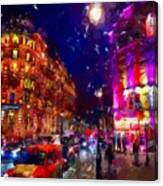 London Night Canvas Print