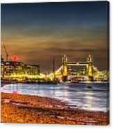 London Night View Canvas Print