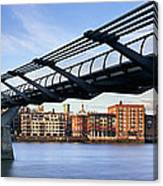 Millennium Bridge London 1 Canvas Print