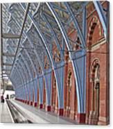 London St Pancras Canvas Print