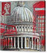 London St Paul's Dome Canvas Print