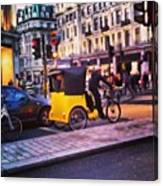 #london #street  #streetphoto #cars Canvas Print