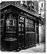 London: Tavern Canvas Print