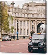 London Taxi Canvas Print