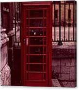 London Telephone Canvas Print