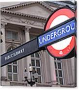 London Underground 1 Canvas Print