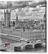 London Westminster Canvas Print
