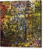 London, Westminster Pen & Ink With Wc On Paper Canvas Print