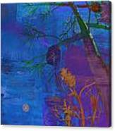 London's Metal Trees 2 Canvas Print