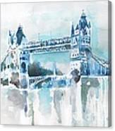 Londres- Tower Bridge Canvas Print