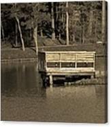 Lone Dock Canvas Print
