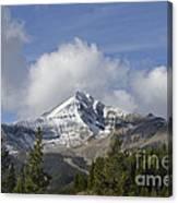 Lone Mountain Peak Canvas Print