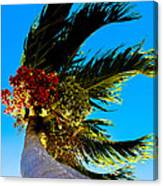Lone Palm Canvas Print