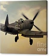 Lone Spitfire Canvas Print
