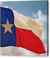 Lone Star Flag Canvas Print