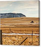 Lonely Cabin Canvas Print