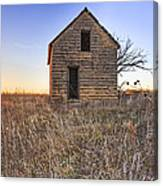 Lonely Homestead Canvas Print