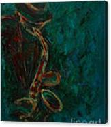 Lonely Jazz Canvas Print