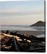 Long Beach Drift  B.c. Canvas Print