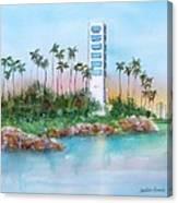 Long Beach Oil Island Canvas Print