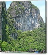 Long Boat Tour - Phi Phi Island - 0113207 Canvas Print