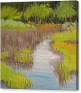 Long Creek Marsh Canvas Print