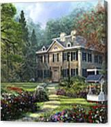 Long Fellow House Canvas Print