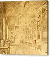 Long Gallery At Strawberry Hill Canvas Print