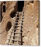 Long House Front Door Bandelier National Monument Canvas Print