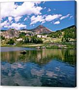 Long Lake Beartooth Pass Canvas Print