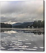 Long Lake Long View Canvas Print