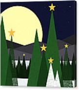Long Night Moon Canvas Print