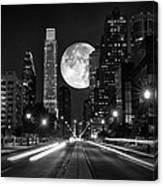 Long Nights Moon Canvas Print