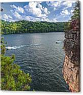 Long Point At Summersville Lake Canvas Print