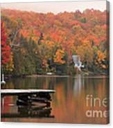Long Pond -- First View Canvas Print